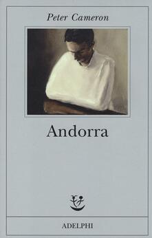 Andorra - Peter Cameron - copertina