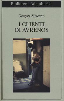 I clienti di Avrenos - Georges Simenon - copertina
