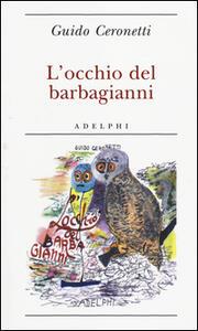 L' occhio del barbagianni - Guido Ceronetti - copertina