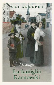 La famiglia Karnowski - Israel J. Singer - copertina