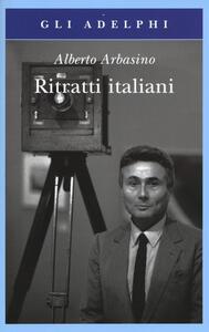 Ritratti italiani - Alberto Arbasino - copertina