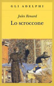 Lo scroccone - Jules Renard - copertina