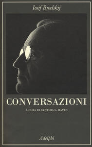 Conversazioni - Iosif Brodskij - copertina
