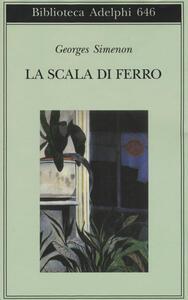 La scala di ferro - Georges Simenon - copertina