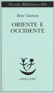 Oriente e Occidente - René Guénon - copertina