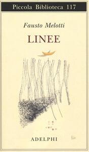 Linee - Fausto Melotti - copertina