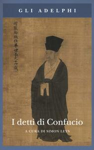 I detti di Confucio - copertina