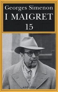 Atomicabionda-ilfilm.it I Maigret: Maigret e il produttore di vino-La pazza di Maigret-Maigret e l'uomo solitario-Maigret e l'informatore-Maigret e il signor Charles. Vol. 15 Image