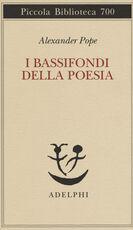 Libro I bassifondi della poesia Alexander Pope