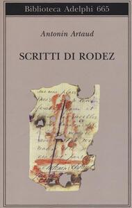 Scritti di Rodez - Antonin Artaud - copertina