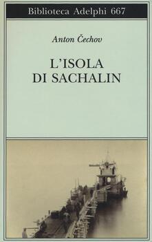 L' isola di Sachalin - Anton Cechov - copertina