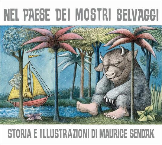 Nel paese dei mostri selvaggi - Maurice Sendak - copertina