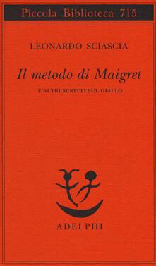 Radiospeed.it Il metodo di Maigret e altri scritti sul giallo Image