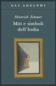 Miti e simboli dell'India - Heinrich Zimmer - copertina