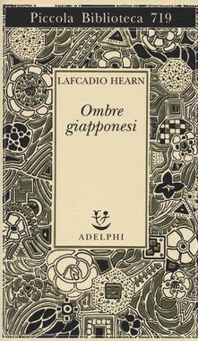Ombre giapponesi - Lafcadio Hearn - copertina