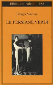 Le persiane verdi - Georges Simenon - copertina