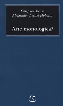 Promoartpalermo.it Arte monologica? Image