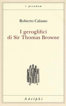 Radiospeed.it I geroglifici di Sir Thomas Browne Image