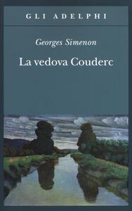 La vedova Couderc - Georges Simenon - copertina