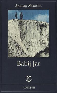 Babij Jar - Anatolij Kuznecov - copertina