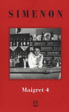 Librisulladiversita.it I Maigret: Il pazzo di Bergerac-Liberty Bar-La chiusa n.1-Maigret-I sotteranei del Majestic. Vol. 4 Image
