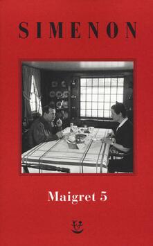Listadelpopolo.it I Maigret: La casa del giudice-Cécilie è morta-Firmato Picpus-Félicie-L'ispettore Cadavere. Vol. 5 Image