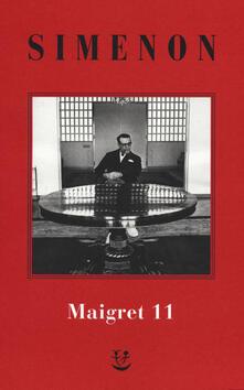Ristorantezintonio.it I Maigret: Maigret si mette in viaggio-Gli scrupoli di Maigret-Maigret e i testimoni recalcitranti-Maigret si confida-Maigret in Corte d'Assise. Vol. 11 Image