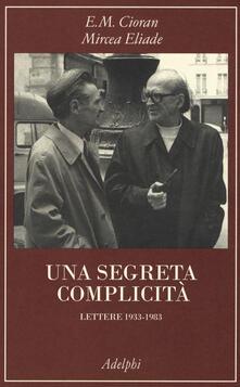Lpgcsostenible.es Una segreta complicità. Lettere 1933-1983 Image