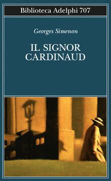 Il signor Cardinaud - Georges Simenon - copertina