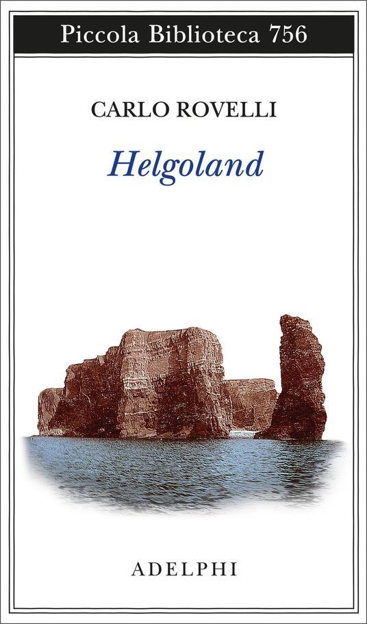 Helgoland - Carlo Rovelli - copertina