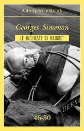 Le inchieste di Maigret vol. 46-50