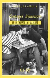 Le inchieste di Maigret vol. 61-65