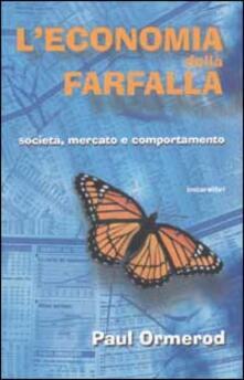 L' economia della farfalla. Società, mercato e comportamento - Paul Ormerod - copertina