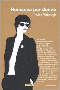 Libro Romanzo per donne Michal Viewegh