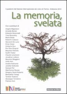 La memoria, svelata - copertina