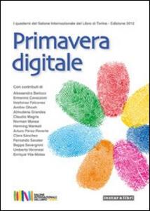 Primavera digitale - copertina