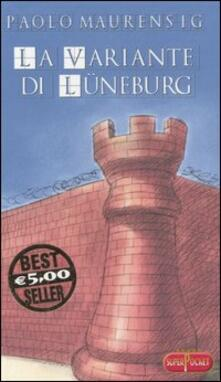 La variante di Lüneburg - Paolo Maurensig - copertina