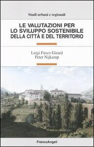 Le valutazioni per lo sviluppo sostenibile della città e del territorio - copertina