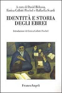 Identità e storia degli ebrei - copertina