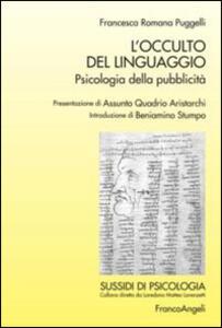 L' occulto del linguaggio. Psicologia della pubblicità - Francesca R. Puggelli - copertina