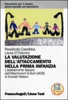 Voluntariadobaleares2014.es La valutazione dell'attaccamento nella prima infanzia. L'adattamento italiano dell'Attachment Q-Sort (AQS) di Everett Waters Image