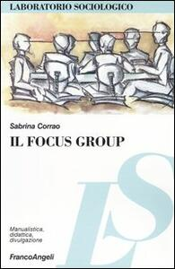 Il focus group - Sabrina Corrao - copertina