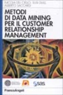 Parcoarenas.it Metodi di data mining per il CRM Image