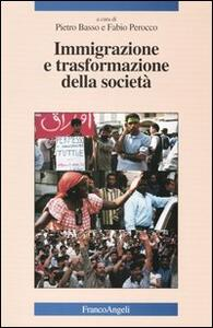 Immigrazione e trasformazione della società - copertina