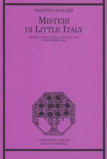 Winniearcher.com Misteri di Little Italy. Storie e testi della letteratura italoamericana Image