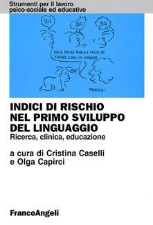 Antondemarirreguera.es Indici di rischio nel primo sviluppo del linguaggio. Ricerca, clinica, educazione Image