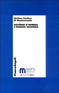 Governo d'impresa e finanza valutaria