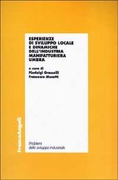Esperienze di sviluppo locale e dinamiche dell'industria manifatturiera umbra