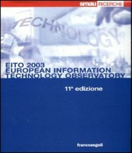 Libro EITO 2003. European information technology observatory. Con CD-ROM