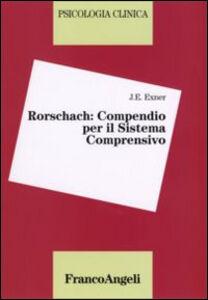 Libro Rorschach: compendio per il sistema comprensivo J. E. Exner